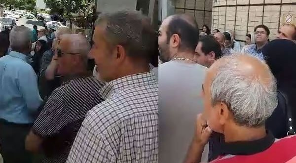 کاسپین زاهدان تجمع اعتراضی مالباختگان کاسپین در تهران و حمایت مردم از ...