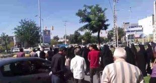 تجمع اعتراضی مالباختگان در نیشابور