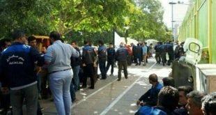 ادامه اعتراضات شرکتیهای مخابرات در استانهای مختلف