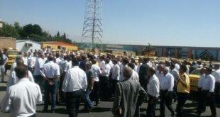 ایران- اعتصاب رانندگان شرکت تاکسی ویژه فرودگاه مهرآباد
