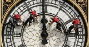 ساعت بیگ بن چهار سال خاموش میشود