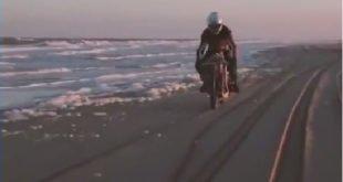 ساخت موتور سیکلتی که تمام اجزایش از طبیعت گرفته شده