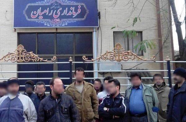 ایران- اعتصاب کارگران معدن ملج آرام رامیان