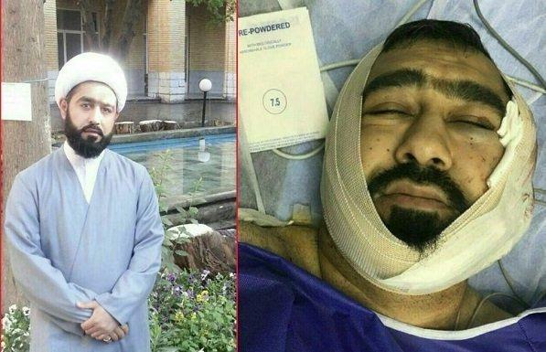 ایران - حمله جوانان تهران به یک آخوند با قمه+عکس