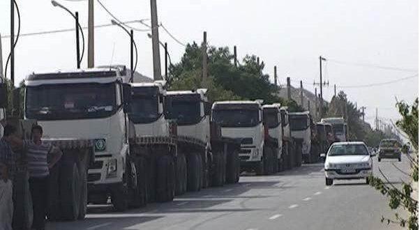 Risultati immagini per اعتصاب کامیونداران
