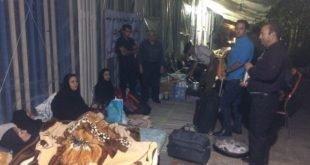 ایران -پیوستن غارت شدگان موسسه کاسپین از کرمان به محل تحصن در تهران
