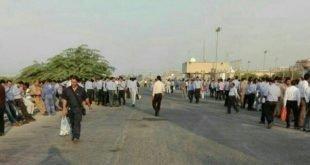 ایران - اعتصاب و تجمعات کارگران فازهای ۱۵و۱۶ پارس جنوبی