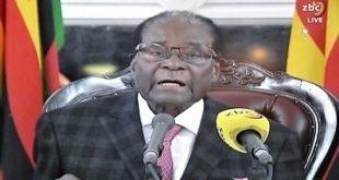 رابرت موگابه استعفا کرد