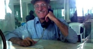 ایران - پیام زندانی سیاسی علی معزی در حمایت و کمک به زلزله زدگان در غرب کشور