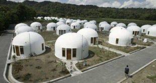 خانههای ۸۰ کیلویی ضدزلزله در ژاپن