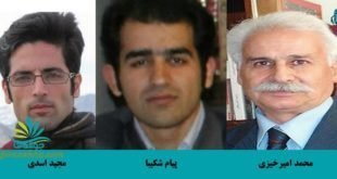 ایران -صدور احکام سنگین حبس و تبعید برای سه تن از زندانیان توسط وزارت اطلاعات به جای قاضی
