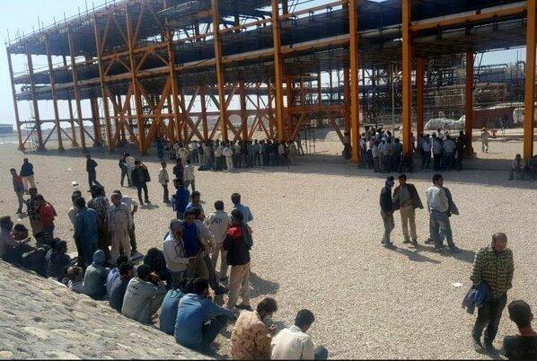 ایران -به بردگی گرفتن و بیگاری کشیدن از کارگران عسلویه از زبان خودشان