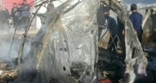 جان باختن ۴ تن از زلزله زدگان براثر آتش سوزی در چادر در سرپل ذهاب