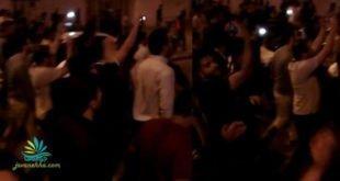 تظاهرات شبانه مردم اهواز با شعار وای بر آنروز که مسلح شویم+ فیلم