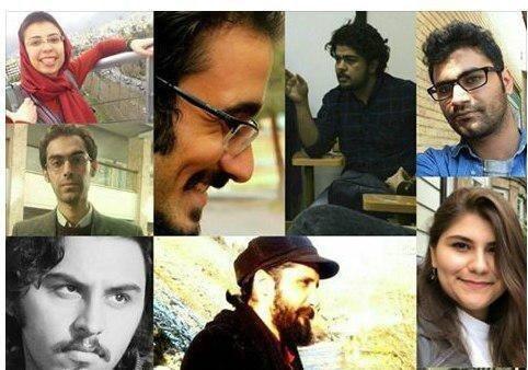 اسامی و مشخصات تعدادی از دانشجویان بازداشت شده در جریان تظاهرات سراسری از ۸ تا ۱۴ دی ماه