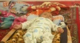 مرگ یک نوزاد دیگر به خاطر سرمازدگی در کرمانشاه بعد از تکذیب مقامات حکومتی