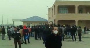 اعتصاب کارگران شرکت کاغذ پارس هفت تپه از بامداد امروز شنبه + فیلم