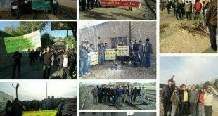 اعتراض و اعتصاب کارگران تراورس درود به دهمین روز خود رسید