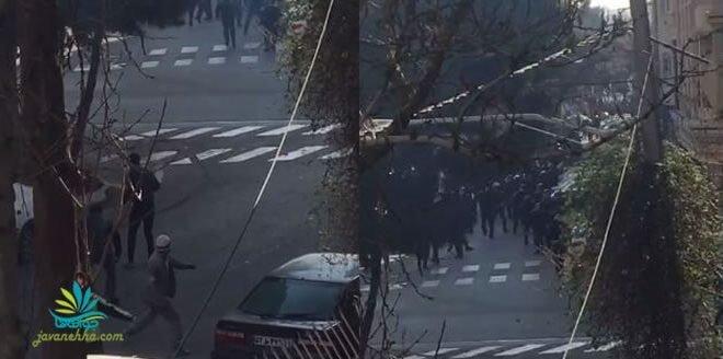 یورش مجدد نیروهای امنیتی به دراویش در گلستان هفتم صبح امروز