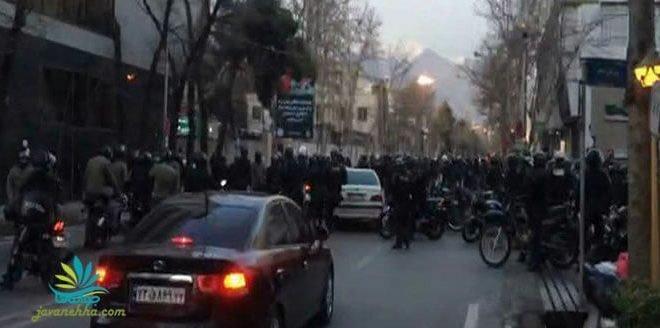 به خون کشیده شدن تحصن مسالمت آمیز دراویش گنابادی توسط نیروی انتظامی