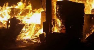 آتشسوزی در سالن مخابرات، ارتباطات مخابراتی کازرون را قطع کرد