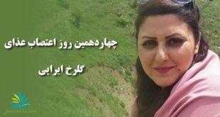 خلاصه ای از شرایط و وضعیت گلرخ ایرایی در چهاردهمین روز اعتصاب غذا