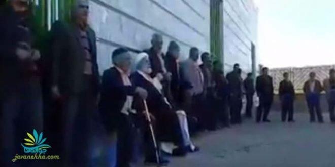 توهین امام جمعه کزاز به مردم این شهر در مراسم ۲۲ بهمن