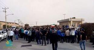تجمع کارگران و پیمانکاران پتروشیمی بندر ماهشهر