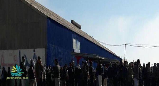 خاموش کردن کوره های شرکت توسط کارگران نیشکر هفت تپه در چهارمین روز اعتراض