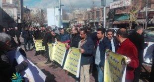 تجمعات اعتراضی اقشار مختلف مردم در گوشه و کنار شهرها در ۲۴ ساعت گذشته همراه با تصاویر