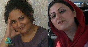 آغاز اعتصاب غذای آتنا دائمی و گلرخ ایرانی و تهدید به اعتصاب خشک