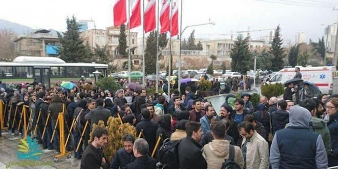 تجمعات اعتراضی اقشار مختلف مردم در گوشه و کنار کشور همراه با تصاویر
