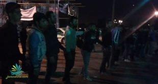مراسم عزاداری سجاد رشیدی توسط جوانان اندیمشک در مقابل منزل پدر وی+ فیلم