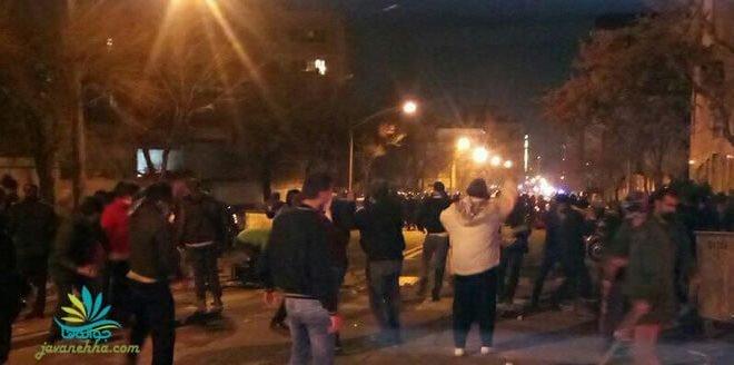 درخواست ماموران نیروی انتظامی از مردم و دراویش برای ترک خیابان + فیلم