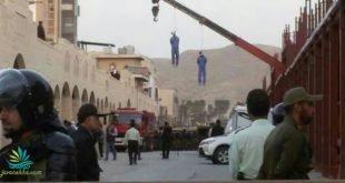 سحرگاه امروز دو برادر در ملاء عام در گچساران اعدام شدند