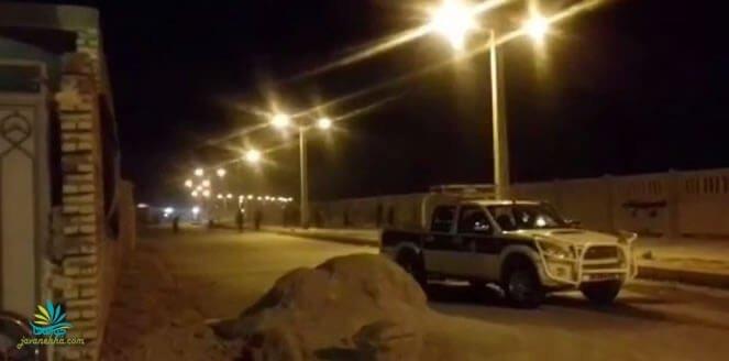حمله شبانه ماموران برای تخریب خانه های مردم در اهواز و مقابله جوانان با آنان