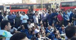 ممانعت از ورود کارگران گروه ملی صنعتی فولاد اهواز به نماز جمعه