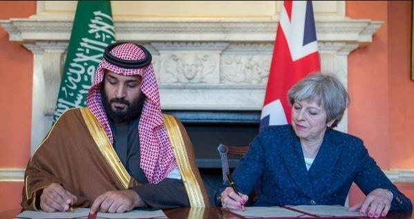 گزارش تصویری العربیه از دیدار تاریخی شاهزاده محمد بن سلمان از بریتانیا