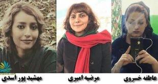 آخرین وضعیت از بازداشت شدگان روز جهانی زن