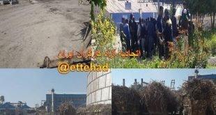 اعتصاب سراسری در شرکت کشت و صنعت نیشکر هفت تپه در آخرین روز سال