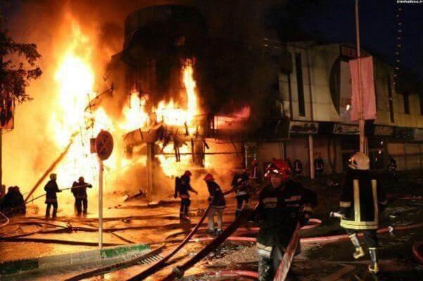 انفجار در زاغه مهمات پادگان دزفول