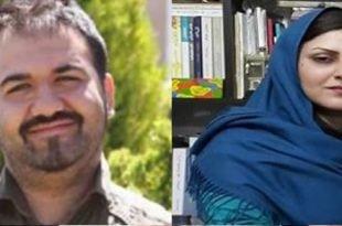حمایت زندانیان سیاسی اردبیل از خواسته و اعتصاب غذای سهیل عربی و گلرخ ایرایی