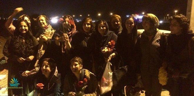 آزادی کلیه زنان بازداشت شده در روز جهانی زن از زندان قرچک ورامین