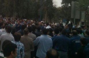 زیر گرفتن یکی از کارگران گروه ملی فولاد اهواز+فیلم