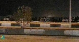 تظاهرات گسترده شبانه در اهواز و محاصره منطقه عین دو توسط نیروهای سرکوبگر امنیتی