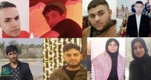 لیست اسامی برخی از دستگیرشدگان در جریان تظاهرات مردم اهواز