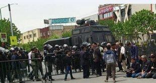 دستگیری های کور مردم اصفهان در تاریکی شب