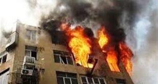 مجتمع رفاهی بانک مرکزی در نوشهر در آتش سوخت