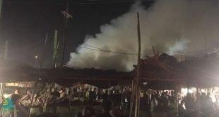 در آتش سوزی عمدی در قهوه خانه اهواز ۱۰ شخص زنده زنده در آتش سوختند