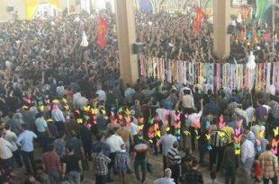 تظاهرات هزاران نفره مردم کازرون با شعار اگر خیانت بشه کازرون قیامت میشه